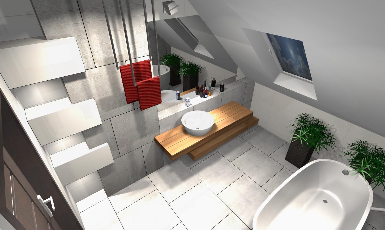 Projekt łazienki 11